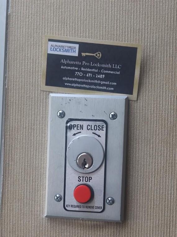 Alpharetta GA Locksmith for Access Control Doors